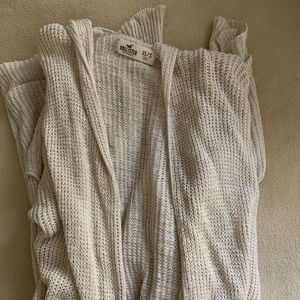 Hollister cardigan!